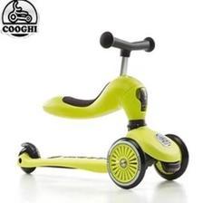 COOGHI 酷骑 儿童滑板车 二合一 黄色 398元包邮(需用券)