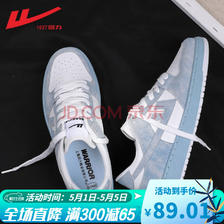 WARRIOR 回力 WBN0234 中性运动板鞋 89.01元(包邮)