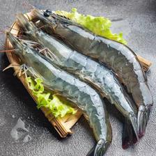 新鲜海捕大虾 4斤装 58.8元(包邮、需用券)