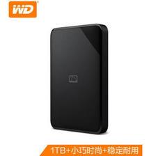 西部数据(WD) 新元素系列 Elements SE 2.5英寸 USB3.0 移动硬盘 1TB 339元