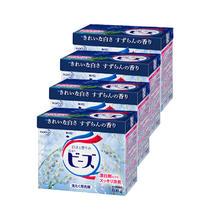 预售: Kao 花王 强效净白洗衣粉 铃兰香 800g*4盒 ¥56