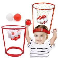 优迭尔 儿童头顶篮球玩具 1个篮球框+20个球 ¥12.9