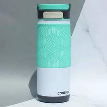 Contigo 康迪克 72339 单手开启 双层不锈钢保温杯480ml 极地白色 ¥93.80