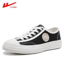 回力(WARRIOR) 帆布鞋女鞋低帮平底系带小白鞋韩版学生布鞋百搭休闲运动