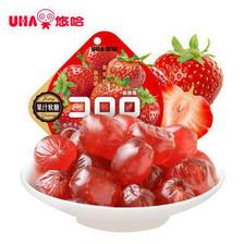 京东PLUS会员:UHA 悠哈 CORORO 草莓味软糖 52g 4.83元(需买22件,共106.26元)