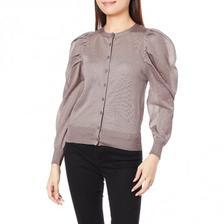 限时¥425.88元:日本 SNIDEL 纱纱袖 长袖开衫(三色可选) 亚马逊海外购 海淘