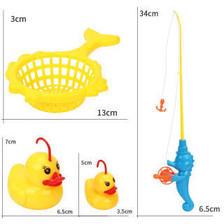 氧氪感应鸭钓鱼玩具新品发光儿童钓鱼套装宝宝动脑洗澡戏水玩具 26.8元(