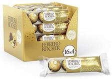 Ferrero 费列罗 巧克力礼盒 4颗,16条装 126.64元(需买6件,共759.83元)