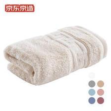 京东京造 新疆长绒棉毛巾125g 米色单条装 *4件 50元(需用券,合12.5元/件)