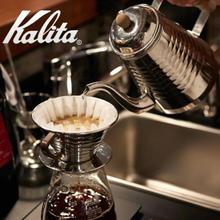手冲必备!Kalita 卡丽塔 滴滤式咖啡壶 银色 1L ¥303