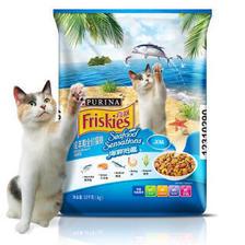 Friskies 喜跃 海鲜味 成猫粮 10kg 167元