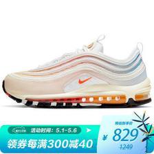 耐克(NIKE) Air Max 97 女子跑鞋 DD8500-161 白色/浅粉/湖蓝 35.5 829元