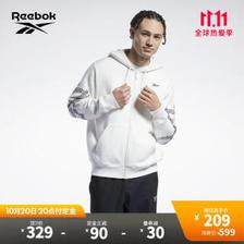锐步(Reebok) 官方2021秋季新款HE6359图案款经典夹克 HE6360-粉白 L(180/100A) 239