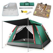 TAN XIAN ZHE 探险者 探险者 全自动免搭建帐篷 3-4人户外露营帐篷套装 358.4元(