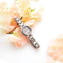 可收秋波,Citizen 西铁城 ES9434-53W 蓝宝石镜面 光动能女士腕表 ¥2041.26
