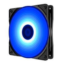九州风神(DEEPCOOL)魔刃120蓝 机箱风扇(小3P+大4P双接口/ 25元