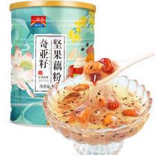 颜茴记 奇亚籽坚果藕粉 500克/罐 12.4元(包邮、需用券)