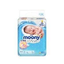 moony 畅透系列 婴儿纸尿裤 NB 90片 ¥55.5