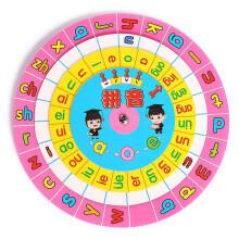 限地区、plus会员:缔羽 汉语拼音 转盘学习教具*2件18元(折合9元/件)