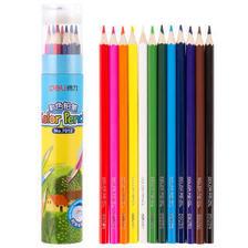 得力(deli) 7012 彩色铅笔 桶装 3.64元(需买7件,共25.5元,需用券)