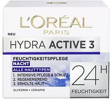 中亚Prime会员: L'OREAL PARIS 巴黎欧莱雅 Hydra Active 3 深度滋润保湿晚霜 50ml
