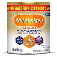 史低!0乳糖,深度水解抗过敏:788g 美赞臣 Nutramigen安敏健 婴幼儿配方奶粉