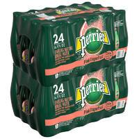 perrier 巴黎水 西柚味 气泡矿泉水 塑料瓶装 500ml*24瓶*2箱 ¥198