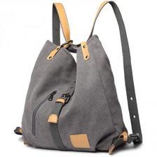 一个包抵三个包:Kono 女士帆布手提包 复古Hobo单肩包 亚马逊海外购¥224.81