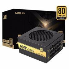 25日0点: SAMA 先马 金牌750 模组电源(750W、80PLUS金牌) 399元包邮