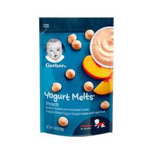 嘉宝(Gerber)蜜桃味酸奶溶豆 3段 28g/袋装 ¥11.5