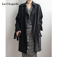 La Chapelle 拉夏贝尔 女士中长款风衣 913613008 ¥249