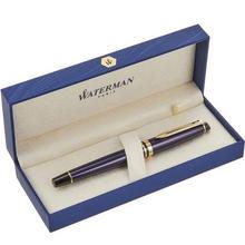 法国产,Watermen 威迪文 Expert权威 GT豪华款 18K金金尖钢笔 EF尖 普鲁士蓝 ¥100