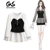 GENUORUISI 歌诺瑞丝 女士长袖衬衫 X01 ¥84