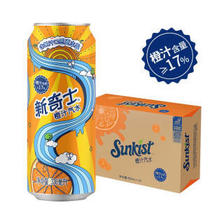 屈臣氏 (Watsons)新奇士橙汁汽水(橙汁含量≥17%) *3件 172.8元(合57.6元/件