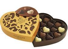 prime会员!Godiva 歌帝梵 金装系列 14颗巧克力心形礼盒装 ¥127.3
