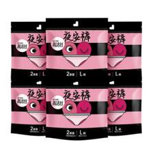 京东PLUS会员: kotex 高洁丝 蜜桃小姐夜安裤L号 6包*2条